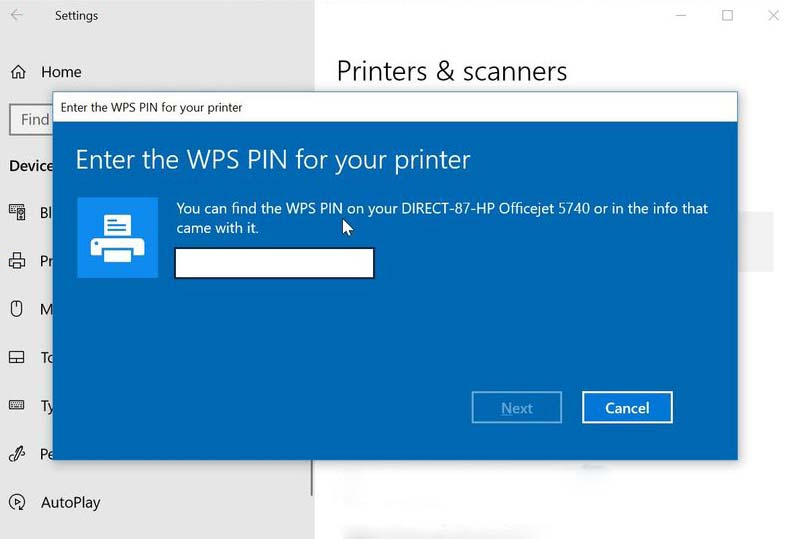 hp deskjet plus 4152 wps